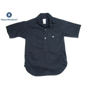 POST OVERALLS(ポストオーバーオールズ)/#1263S C-POST4 S/S PULLOVER OXFORD SHIRTS/navy【父の日】【ギフト】