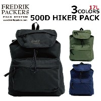 FREDRIK PACKERS フレドリックパッカーズ 500D HIKER PACK ハイカー パックリュックサック リュック メンズ B4 17Lプレゼント ギフト 通勤 通学 送料無料