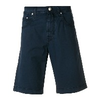 Jacob Cohen knee-length fitted shorts - ブルー
