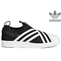adidas Originals SUPERSTAR SLIPON W AC8582 CORE BLACK/RUNNING WHITE/RUNNING WHITEアディダス オリジナルス...