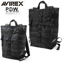 AVIREX アビレックス 6689003 P.D.W. TOTE BACKPACK トートバックパック
