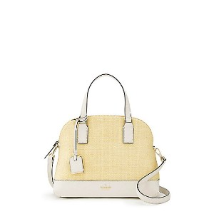kate spade new york/ケイト・スペード  CAMERON STREET STRAW LOTTIE(PXRU8794) NATURAL/CEMENT(266) 【三越・伊勢丹/公式】...