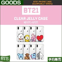 BT21 PHONE CASE [CLEARJELLY BASIC]/1次予約/送料無料