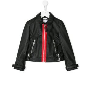 Givenchy Kids zipped jacket - ブラック