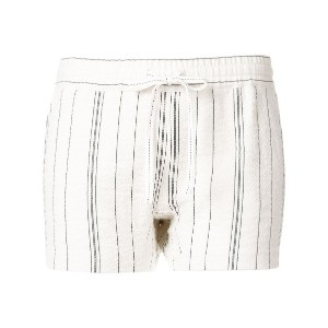 See By Chloé striped shorts - ホワイト