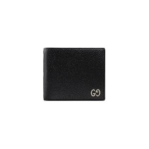 Gucci Leather wallet - ブラック