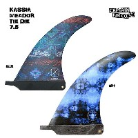 CAPTAIN FIN(キャプテンフィン) KASSIA MEADOR TIE DYE 7.5 FIN フィン ロングボードフィン カシアミーダー