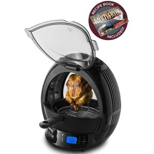 マルチクッカー エアフライヤー ロティサリー Gourmia GMF2600 - 9 In 1 Air Fryer & Multicooker, Halogen Powered Vertical...