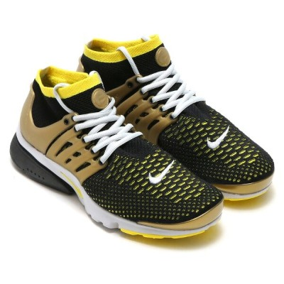 NIKE AIR PRESTO FLYKNIT ULTRA(ナイキ エア プレスト フライニット ウルトラ)BLACK/YELLOW STREAK-METALLIC GOLD-NEUTRAL...