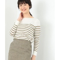 ★dポイントが貯まる★【BEAMS OUTLET(ビームス アウトレット)】【PINK RIBBON Campaign】Domani × Demi?Luxe BEAMS / パネルボーダー...