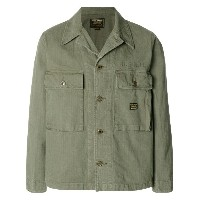 Neighborhood military utility jacket - グリーン
