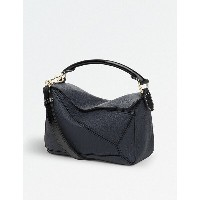 ロエベ レディース バッグ ハンドバッグ【puzzle small multi-function leather bag】Midnight blue/black