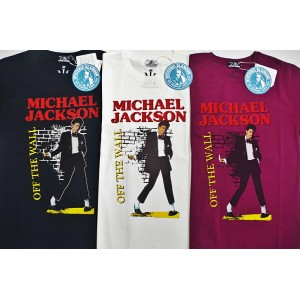 HYSTERIC GLAMOUR ヒステリックグラマー MICHAEL JACKSON/OFF THE WALL プリント Tシャツ(02182CT01)