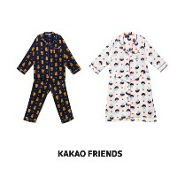 【Kakao friends】カカオフレンズラブパジャマ/Kakao friends love pajama/2種・KAKAO FRIENDS正規品