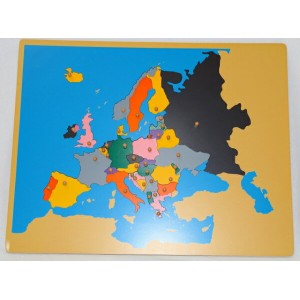 Educational Insights World Foam Map Puzzle 4810