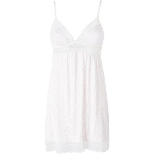 レディース EBERJEY SWEET HEART THE CLASSIC CHEMISE スリップ ホワイト
