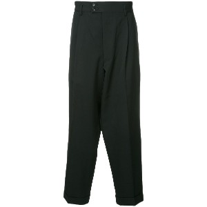 Comme Des Garçons Vintage tailored tapered trousers - ブラック