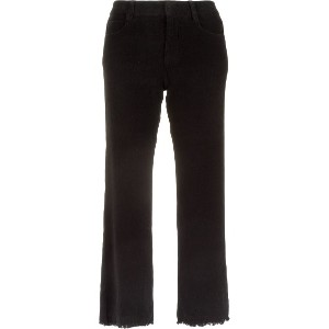 Egrey flared cropped trousers - ブラック