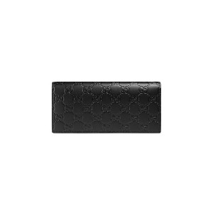 Gucci Gucci Signature long coin wallet - ブラック