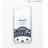 【HELLO KITTY×LE MAGASIN】iPhoneケース【アダム エ ロペル マガザン/Adam et Rope Le Magasin レディス その他(インテリア・生活雑貨) ホワイト...