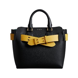 Burberry The Small Leather Belt トートバッグ - ブラック