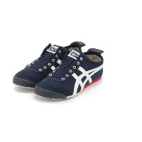 【Onitsuka Tiger】MEXICO 66 SLIP-ON【エミ/emmi レディス スニーカー NVYxOWHT ルミネ LUMINE】
