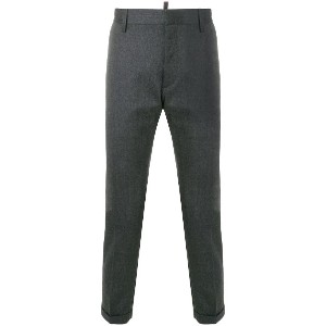 Dsquared2 cropped tailored trousers - グレー