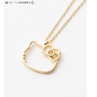 【HELLO KITTY×LE MAGASIN】ネックレス【アダム エ ロペル マガザン/Adam et Rope Le Magasin レディス ネックレス ブラック系(02) ルミネ...