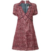 Chanel Vintage boucle dress - レッド