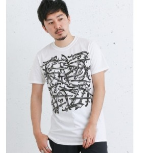 Sonny Label CROSSED SWORD REPEAT SWORD-T-SHIRTS【アーバンリサーチ/URBAN RESEARCH メンズ Tシャツ・カットソー WHITE ルミネ...