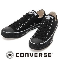 CONVERSE CANVAS ALL STAR COLORS OX ブラック/ホワイト