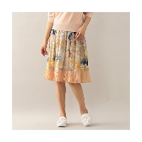 【SALE(伊勢丹)】 TO BE CHIC/TO BE CHIC  リビエラプリントスカート ピンク 【三越・伊勢丹/公式】 レディースウエア~~スカート~~ひざ丈スカート