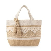 【Lilas Campbel】LP TOTE BAG Liuvia【アダム エ ロペル マガザン/Adam et Rope Le Magasin レディス トートバッグ ベージュ(27) ルミネ...