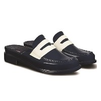 BACKLESS GLOSS PENNY LOAFER【ハンター/HUNTER レディス サンダル NOW ルミネ LUMINE】