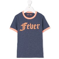 Zadig & Voltaire Kids プリント Tシャツ - ブルー