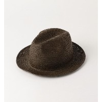 GRILLO  PAPER HAT 2/ハット【ビューティアンドユース ユナイテッドアローズ/BEAUTY&YOUTH UNITED ARROWS メンズ ハット MD.BROWN ルミネ...
