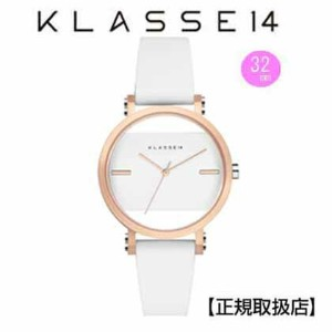 (あす楽)クラス14 KLASSE14 腕時計 KLASSE14 Imperfect White Square IP Rose Gold Case 32mm /White Dial レディ...