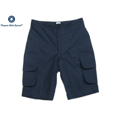 POST OVERALLS(ポストオーバーオールズ)/#2323 P/C WEATHER POPLIN DEE'S SHORTS2/navy