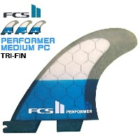 FCS2 PERFORMER MEDIUM PC 3フィン PC Tri Set パフォーマンスコア/ショートボード用 サーフィン【小型宅配便】【コンビニ受取対応商品】【RCP】