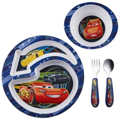 TheFirstYears ディズニー ピクサー カーズ3 食器4点セット Y9459A6