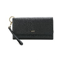 DKNY Pebbled large carryall wallet - ブラック