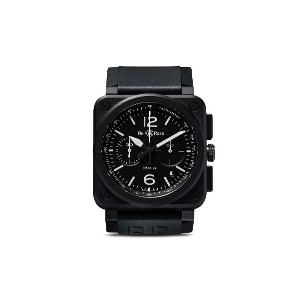 Bell & Ross BR 03-94 ブラックマット 42mm - Black Matt B Black