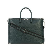 Valextra structured holdall - グリーン