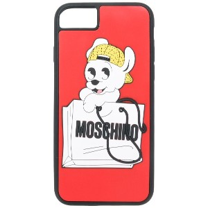 Moschino Pudge iPhone 6, 6s, 7 カバー - レッド