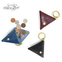 THE SUPERIOR LABOR TRIANGLE COIN KEY CASE TRADITIONAL BRIDLE LEATHER 3 COLORS MADE IN JAPAN コインケース