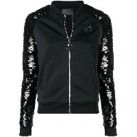 Philipp Plein Luxury bomber jacket - ブラック