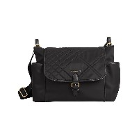 Burberry Kids Check-quilted Baby Changing Shoulder Bag - ブラック