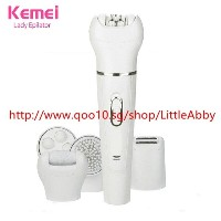 女性用シェーバー電気シェーバー除毛器Kemei 5 in 1 Women Shaver Electric Shaver Epilator Shaving Bikini Trimmer