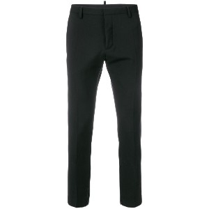 Dsquared2 tailored cropped trousers - ブラック