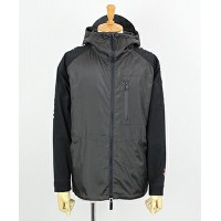 AKM(エイケイエム) AKM × BROWN BUNNY 切り替えジップアップパーカー LIGHT COMBI HOODED ZIP UP BZ WITH COOL MESH [BSL022...